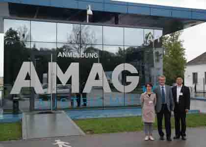 2014年参观AMAG奥地利工厂